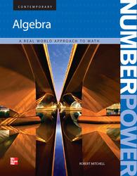 Number Power: Algebra, Student Edition