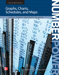 Number Power: Graphs, Tables, Schedules, and Maps, Student Edition