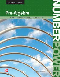 Number Power: Pre-Algebra, Student Edition
