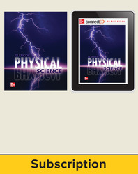 Physical Science, Digital & Print Student Bundle, 1-year subscription