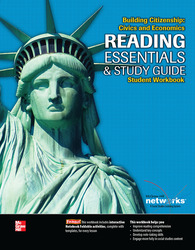 Building Citizenship: Civics and Economics, Reading Essentials and Study Guide, Student Workbook