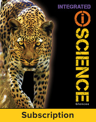 Glencoe iScience, Integrated Course 2, Grade 7, Digital & Print Student Bundle, 6-year subscription