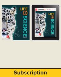 Glencoe Life iScience, Grade 7, Digital & Print Student Bundle, 6-year subscription