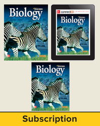 Glencoe Biology, Student Edition w/StudentWorks Plus Online, 1 year subscription