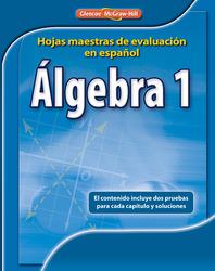 Algebra 1 Spanish Assessment Masters