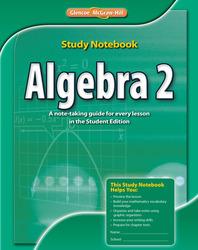 Algebra 2, Study Notebook