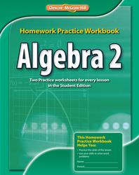 Algebra 2, Homework Practice Workbook