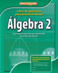 Algebra 2, Spanish Homework Practice Workbook