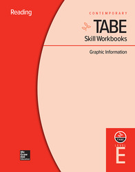 TABE Skill Workbooks Level E: Graphic Information (10 copies)