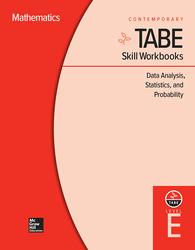 TABE Skill Workbooks Level E: Data Analysis, Statistics, and Probability (10 copies)