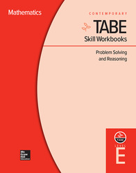 TABE Skill Workbooks Level E: Problem Solving and Reasoning (10 copies)