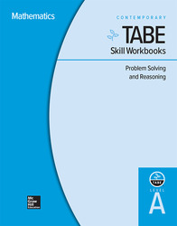 TABE Skill Workbooks Level A: Problem Solving and Reasoning - 10 Pack