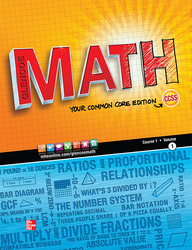 Glencoe Math, Course 1, Student Edition, Volume 1