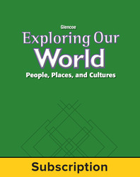 Exploring Our World: Eastern Hemisphere, Online Teacher Edition with Resources, 6-Year Subscription