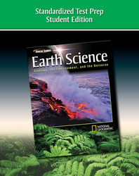 Glencoe Earth Science: Geology, the Environment, and the Universe, Standardized Test Prep, Student Edition