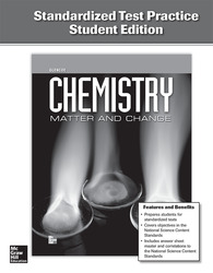 Chemistry: Matter & Change, Standardized Test Practice, Student Edition