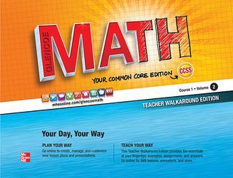 Glencoe Math, Course 1, Teacher Walkaround Edition, Volume 2