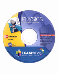 Glencoe Physics: Principles and Problems, ExamView® Assessment Suite CD-ROM