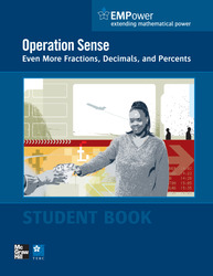 EMPower Math, Operation Sense: Even More Fractions, Decimals, and Percents, Student Edition