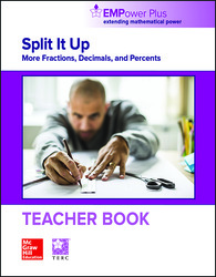 EMPower Math, Split It Up: More Fractions, Decimals, and Percents, Teacher Edition