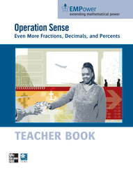 EMPower Math, Operation Sense: Even More Fractions, Decimals, and Percents, Teacher Edition