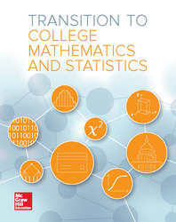 Transition to College Math & Statistics Student Edition