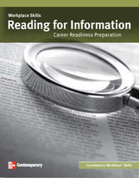 Workplace Skills: Reading for Information, Value Set (25 copies)