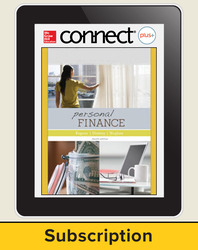 Personal Finance, Connect Plus, up to 25 users/school/year, 6 year subscription