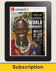 Discovering World Geography, Eastern Hemisphere, Student Learning Center, 6-Year Subscription