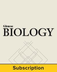 Glencoe Biology, LearnSmart® Student Edition, 1-year subscription