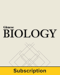 Glencoe Biology, LearnSmart® Student Edition, 1-year subscription