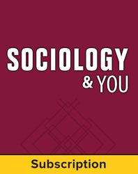 Sociology & You, Teacher Suite, 1-year subscription