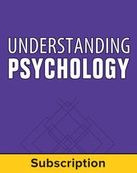 Understanding Psychology, Teacher Suite, 1-year subscription