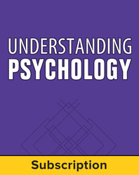 Understanding Psychology, Teacher Suite, 1-year subscription