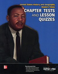 United States History and Geography: Modern Times, Chapter Tests and Lesson Quizzes