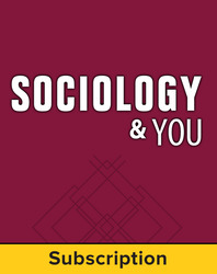 Sociology & You, Complete Classroom Set, Digital, 1-year subscription (set of 30)