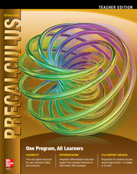 Precalculus, eTeacherEdition Online, 1-year subscription