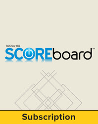 AP US History SCOREboard, Single User (school purchase), 1-year subscription