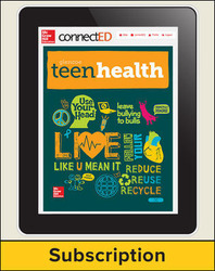 Teen Health Teacher Center, 1-year Subscription