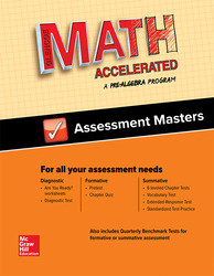 Glencoe Math Accelerated, Assessment Masters