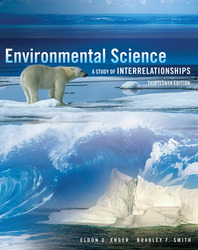 Enger, Environmental Science: A Study of Interrelationships © 2013 13e, Digital & Print Student Bundle, 1-year subscription