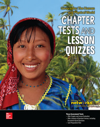 Geography: The Human and Physical World, Chapter Tests and Lesson Quizzes