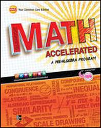 Glencoe Math Accelerated, eStudentEdition CD-ROM