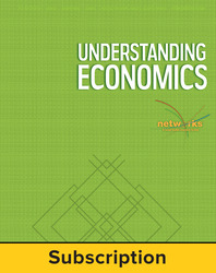 Understanding Economics, Teacher Lesson Center, 1-year subscription