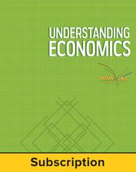 Understanding Economics, Complete Classroom Set, Digital, 1-year subscription (set of 30)