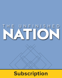 Brinkley, Unfinished Nation © 2014 7e, Connect Plus®, 1-year subscription