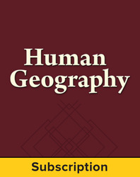 Malinowski, Human Geography © 2013 1e, Connect Plus®, 1-year subscription