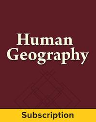 Malinowski, Human Geography © 2013 1e, Standard Student Bundle, 1-year subscription