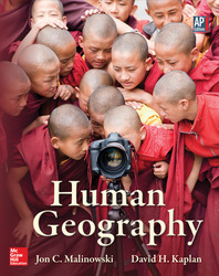 Malinowski, Human Geography © 2013 1e, ConnectED eBook, 1-year subscription