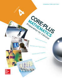 Core Plus Mathematics, Course 4, Student Edition
